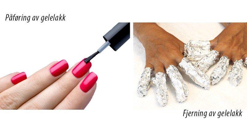 Fordeler med gelelakk med shellac fremfor vanlig neglelakk