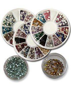 Diamanter og metallpynt